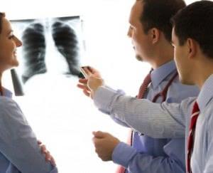 осмотр рентгена легких