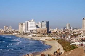 Израиль, пляж в Израиле