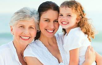 женщины, мать и дочь, наследственность